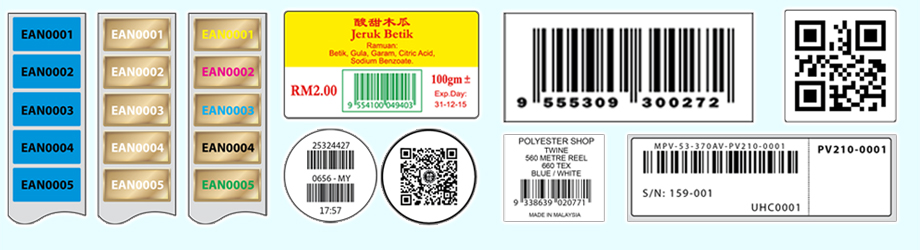 Barcode & Numbering